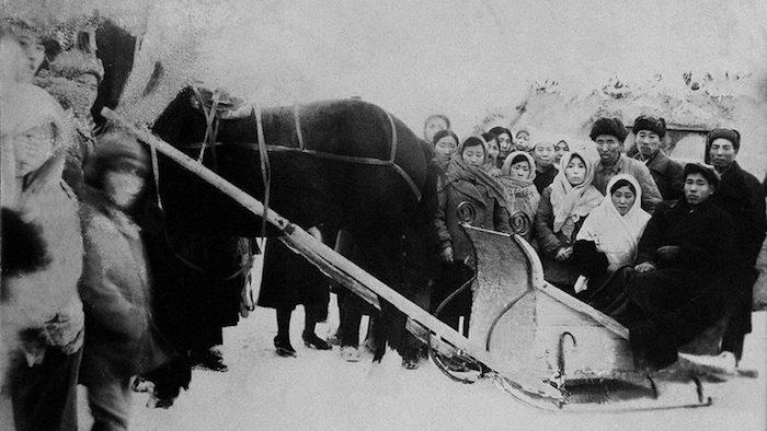 Корейские переселенцы в Казахстане в 1944 году. Источник: Виктор Ан / Коммерсантъ