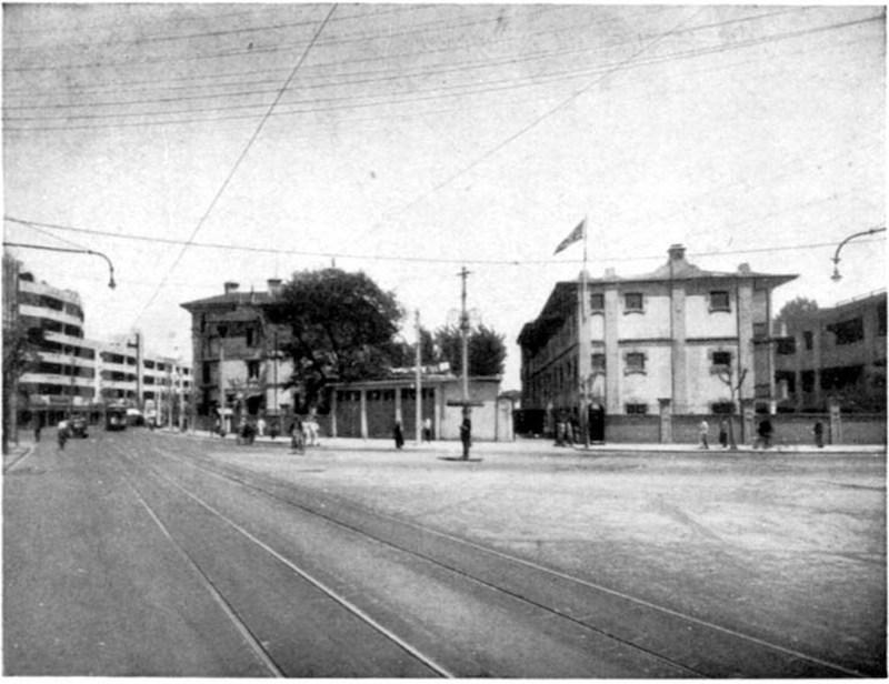 Авеню Жоффр в 1930-е годы. Источник: Virtual Shanghai