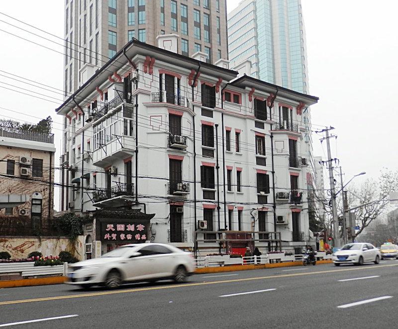 Бывшее общежитие в наши дни. Источник: sina.com