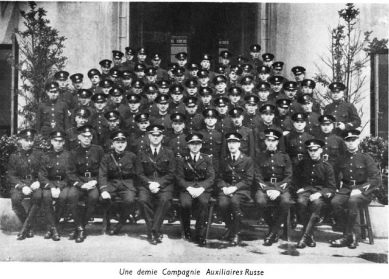 Русский резерв Французской полиции в 1930 году. Источник: Virtual Shanghai