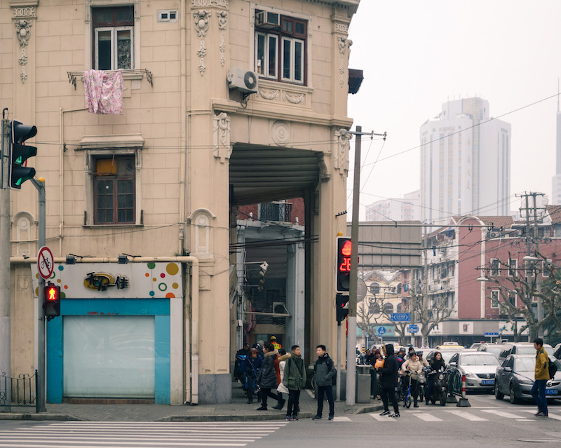Старые галереи на Цзиньлин Лу. Источник: Катя Князева