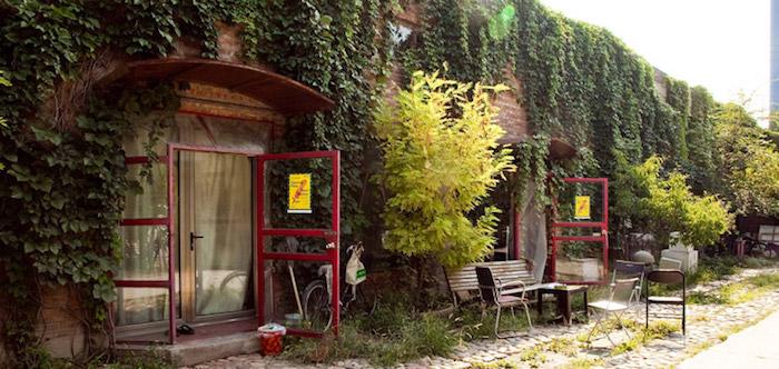 Сейчас Юлия работает в резиденции Red Gate Gallery. Источник: Goethe-Institut China
