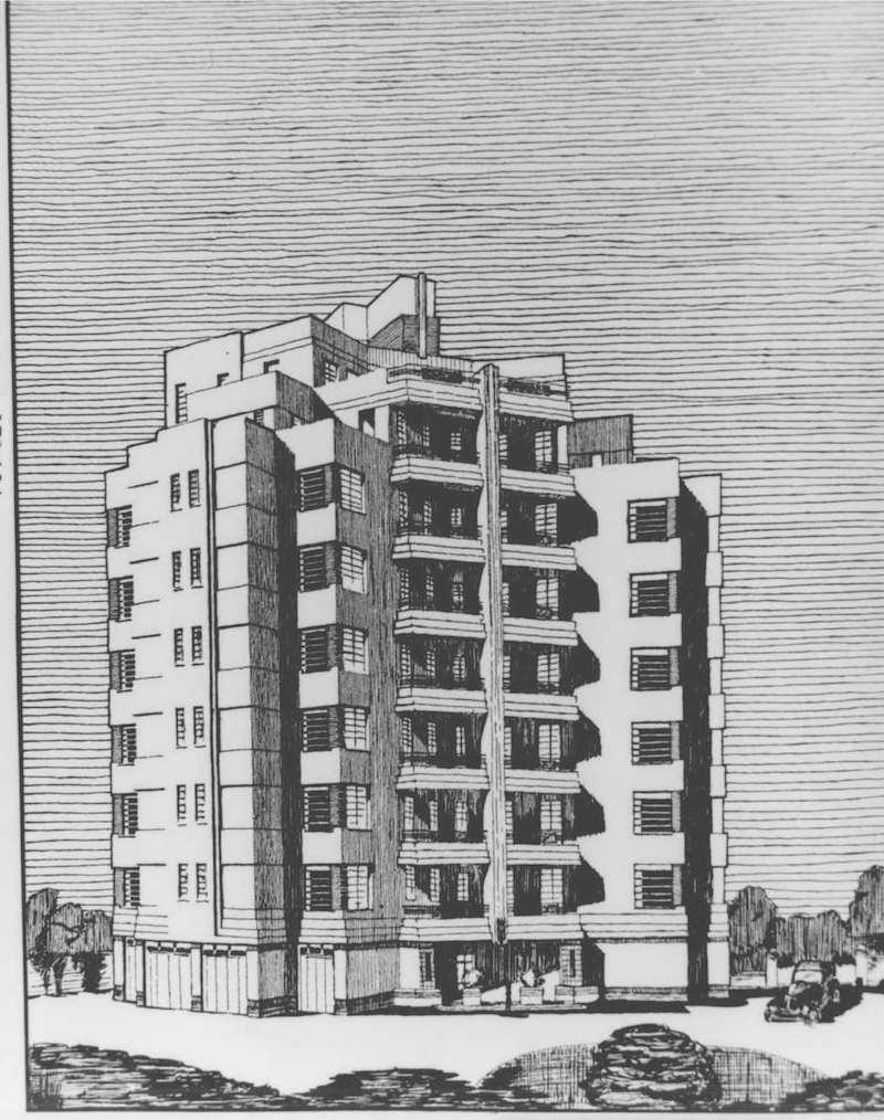 Архитектурный проект здания. Источник: minguotupian.com