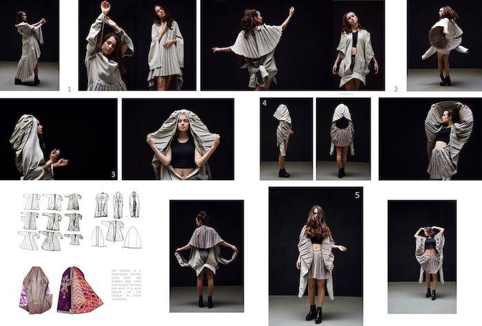 """""""Паранджа"""" - это эксперимент с многофункциональностью одежды"""