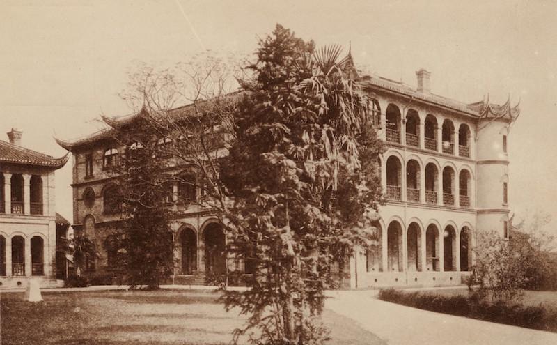 Научная лаборатория университета в 1922 году. Источник: Springfield YMCA Archives