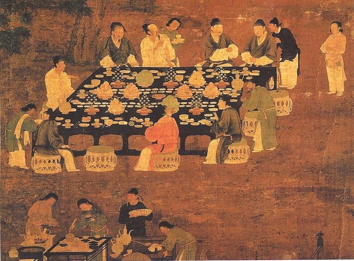 Лапшу в Китае едят со времен династии Тан. Источник: Wikimedia Commons