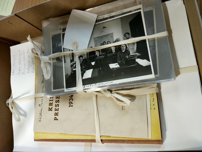 Архив Дома русской женщины в Лондонской библиотеке. Источник: Katya Knyazeva copy