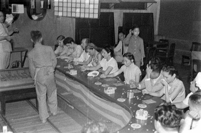 Азарные игроки в 1940 году. Источник: A. T. Hull Jr.