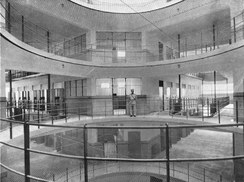 Иностранный корпус городской тюрьмы. Источник: отчет Муниципального совета сеттльмента за 1935 год