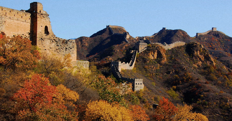 Цзиньшаньлин расположен в 130 км от Пекина. Источник: china hiking