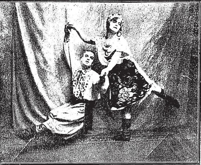Реклама русского номера в Дель Монте в 1926 году. Источник: The China Press