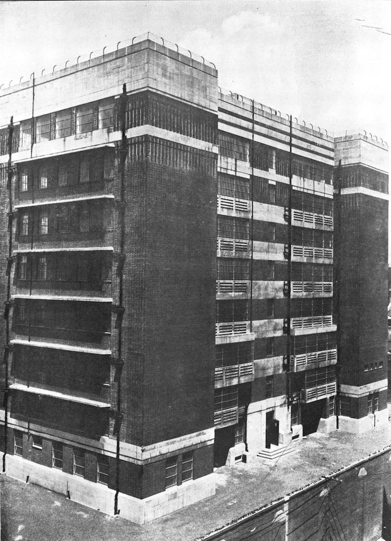 Тюремный госпиталь. Источник: отчет Муниципального совета сеттльмента за 1933 год