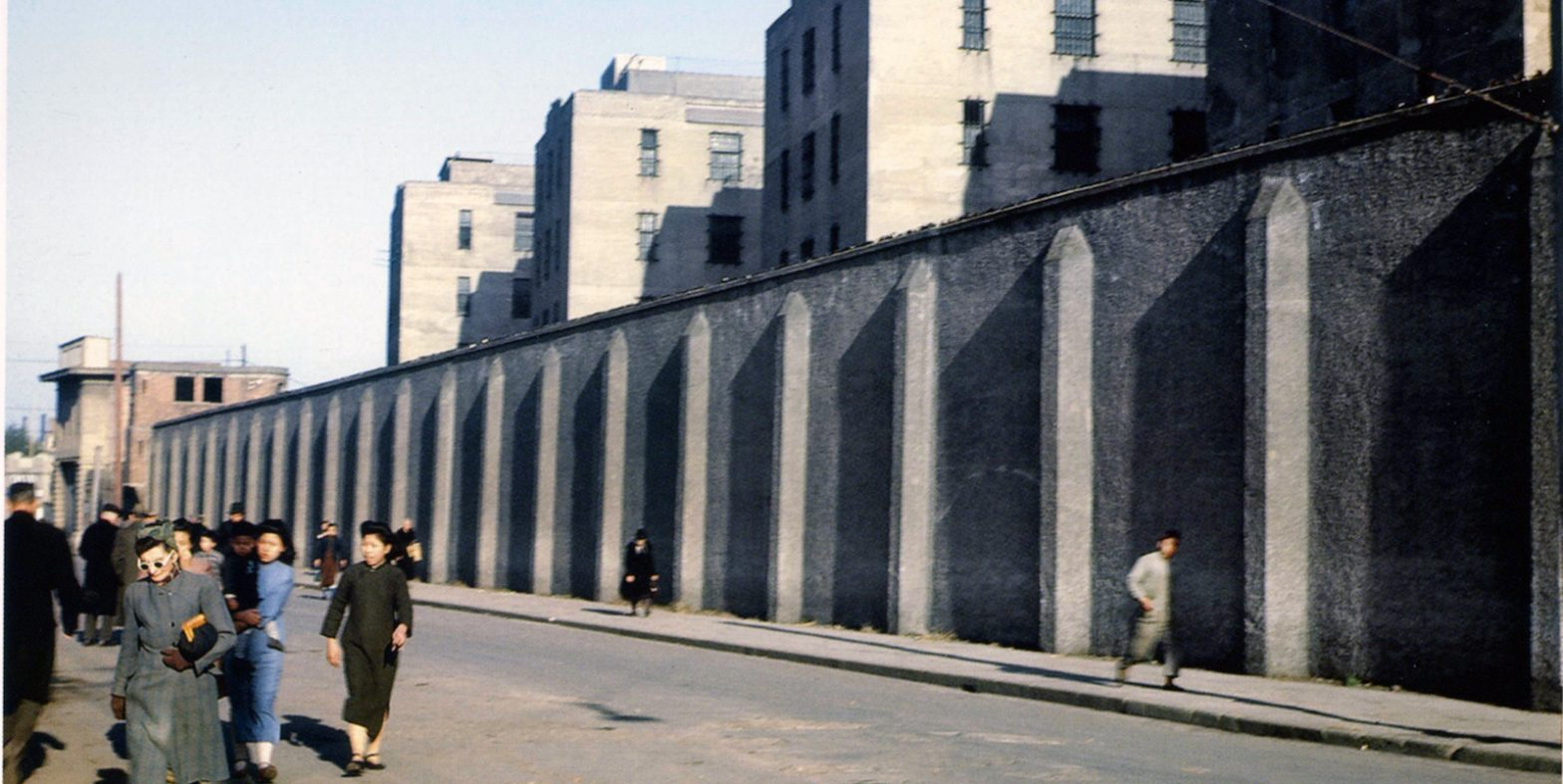 Улица за тюрьмой (Kunming Road) в 1945 году (c) книга China from the Eyes of the Flying Tigers 1944-1945
