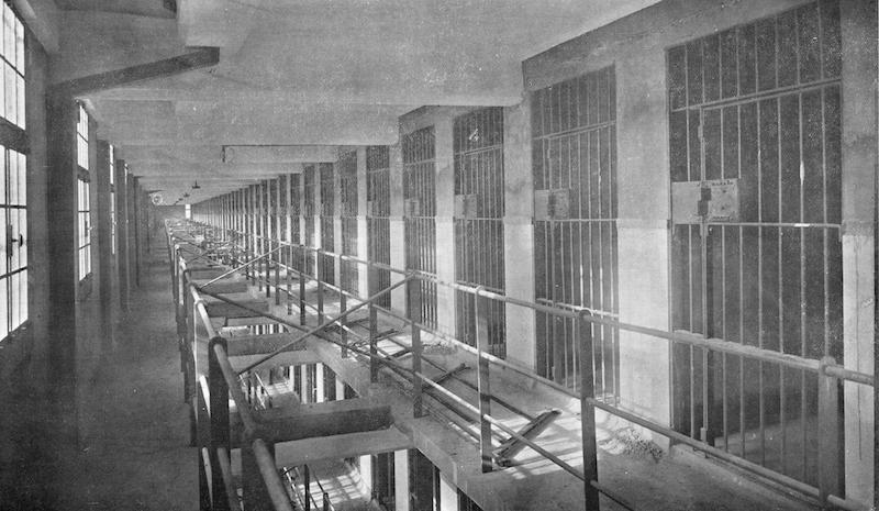 Внутренние коридоры. Источник: отчет Муниципального совета сеттльмента за 1929 год