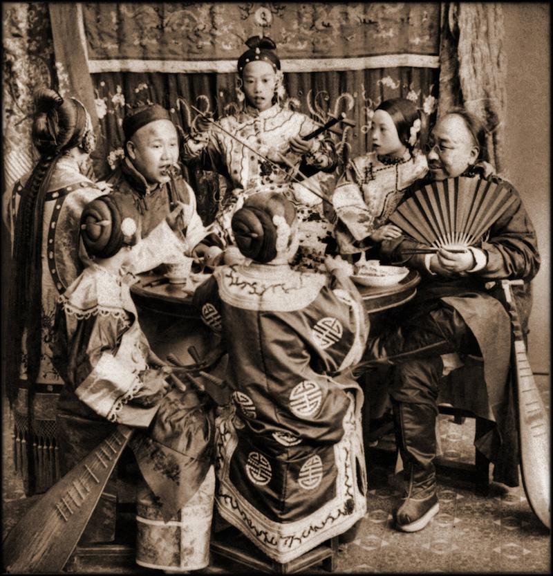 Малолетние куртизанки и их клиенты. Источник: Library of Congress