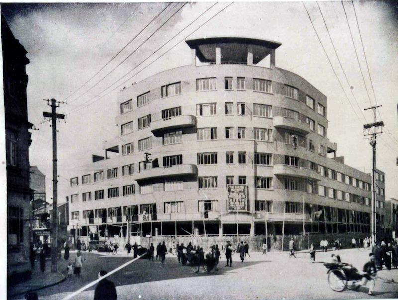 Здание вскоре после постройки в 1937 году. Источник: Virtual Shanghai