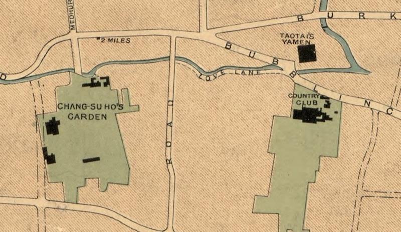 Карта района в 1904 году. Источник: Library of Congress