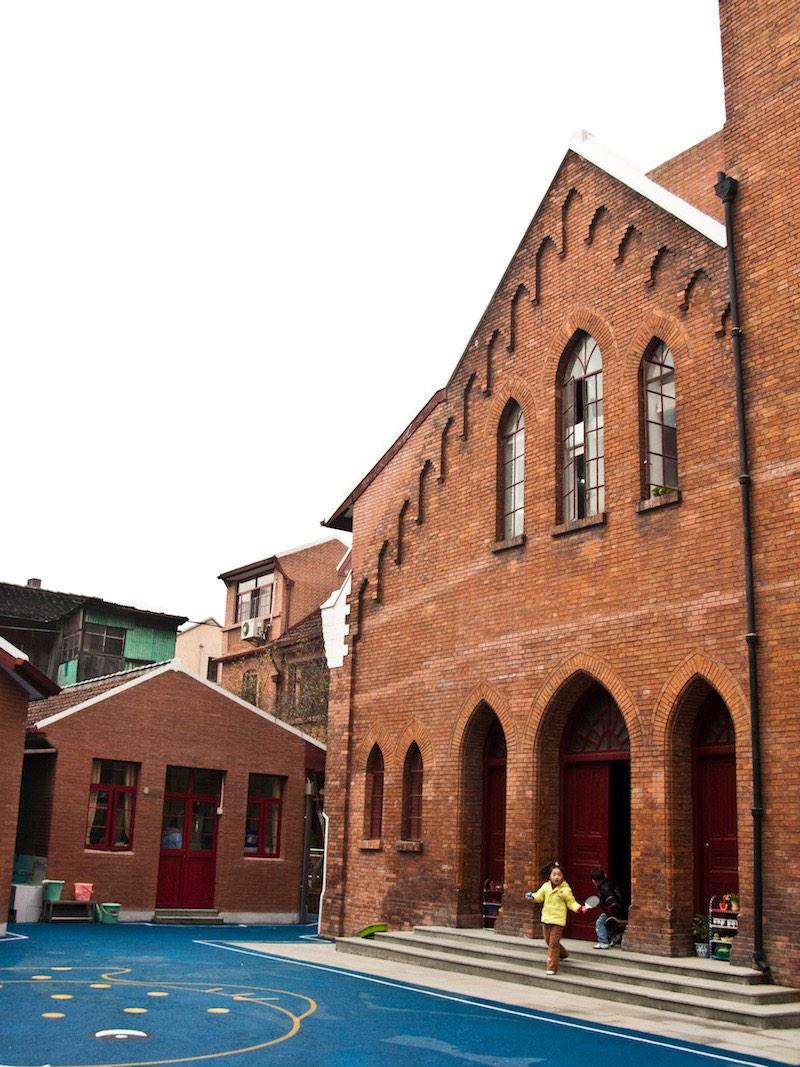Детский сад в бывшей церкви. Источник: Катя Князева