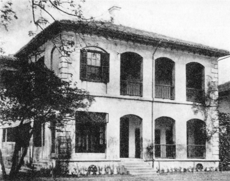 Институт Лоури в ранние годы. Источник: 150 Years of the Old Town in Shanghai