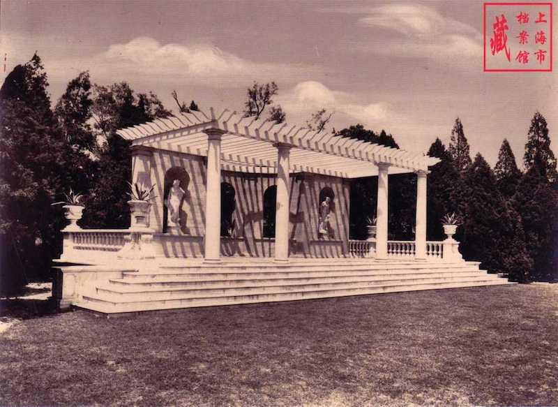 Мраморный павильон. Источник: Shanghai Municipal Archive