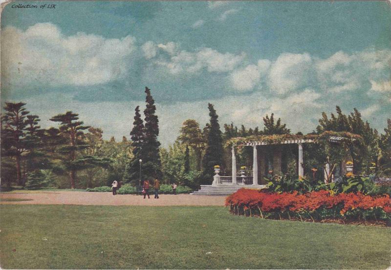 Мраморный павильон в 1958 году. Источник: flickr Fin de Siecle