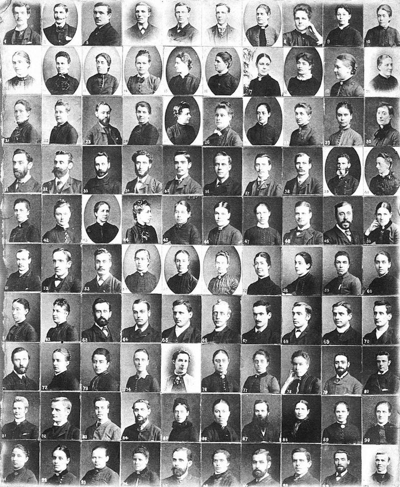 Портреты миссионеров в 1880-е годы. Источник: Mrs Howard Taylor - The Story of China Inland Mission