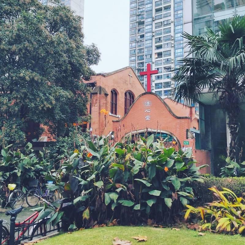 """Церковь """"Чистого сердца"""" в наши дни. Источник: flickr Owen Wong"""
