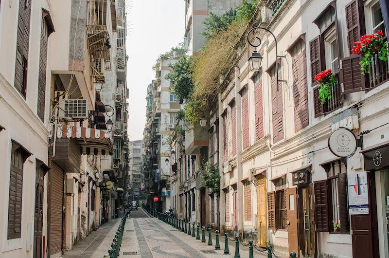 На улицах Макао трудно поверить, что ты находишься в Азии. Фото: Алина Кочетова