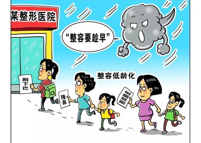 """""""Пластику надо делать чем раньше, тем лучше"""". Источник: sxdt.com.cn"""