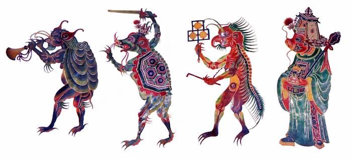 Яо, мо, гуй и гуай - четыре основных вида китайской нечести. Источник: wxwenku.com/d/106059839
