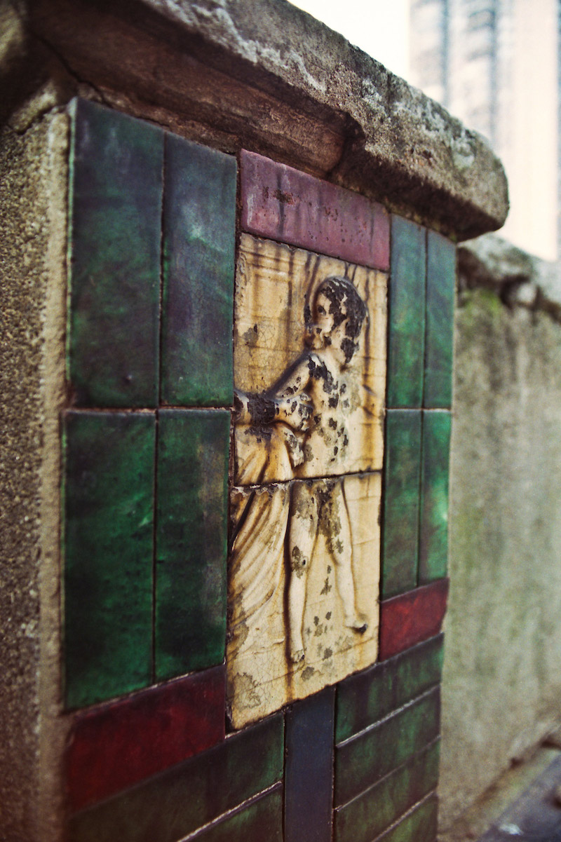 Купидон на террасе. Фото: Катя Князева