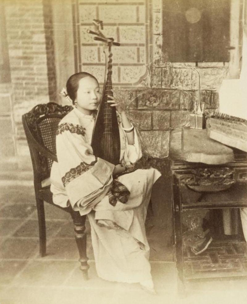 Куртизанка в конце 19-го века. Источник: Getty Research Institute