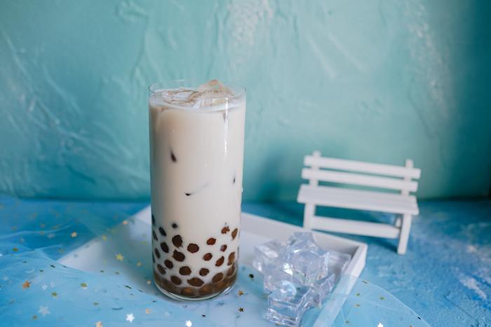 Классический bubble tea. Источник: hudong.com