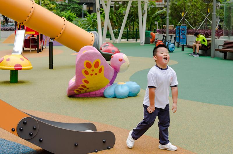 В Макао множество бесплатных детских площадок. И они прекрасны. Фото: Алина Кочетова