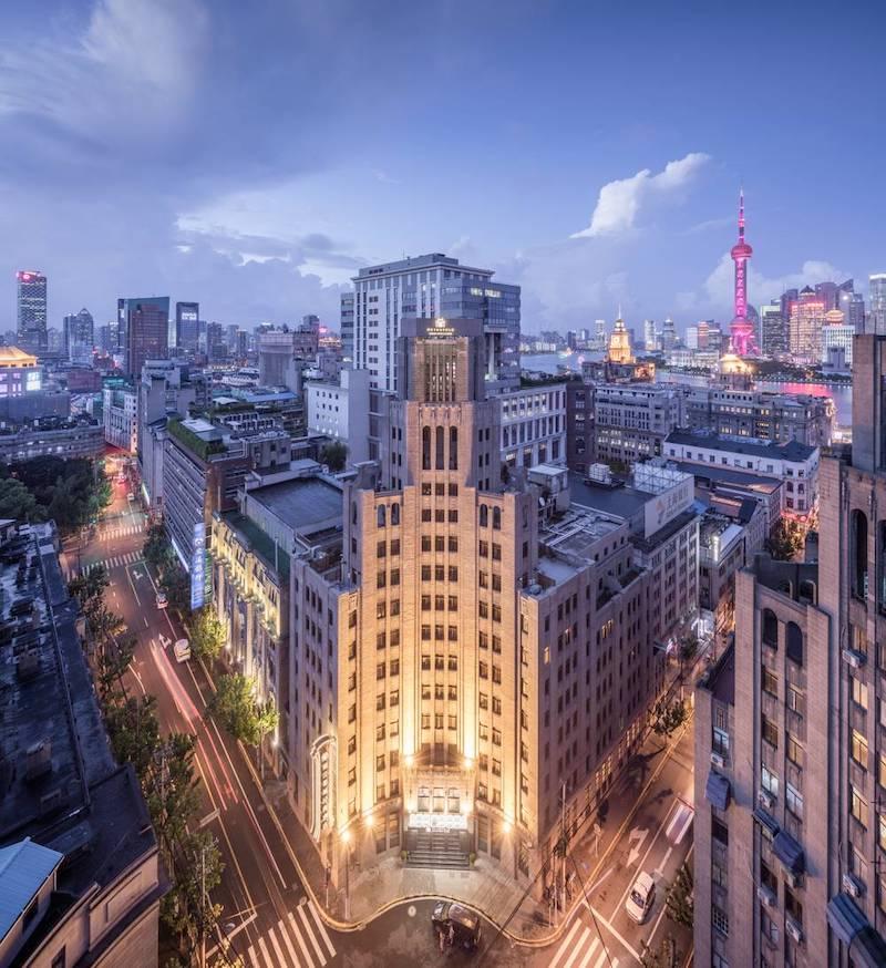 Метрополь в современном ландшафте. Источник: sohu 上海建筑设计研究院