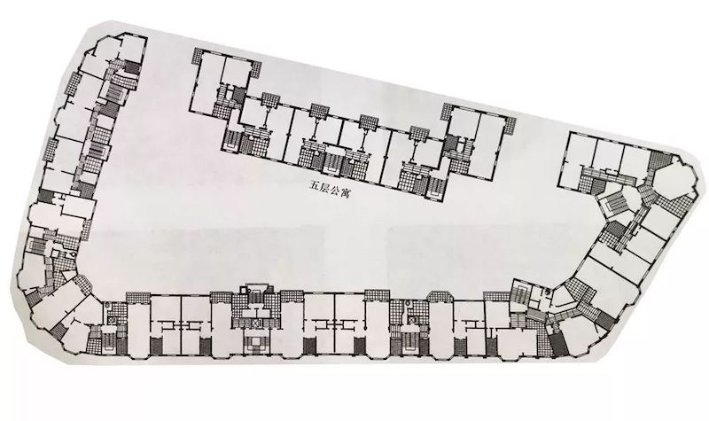 План пятого этажа. Источник: 上海徐汇 360docs