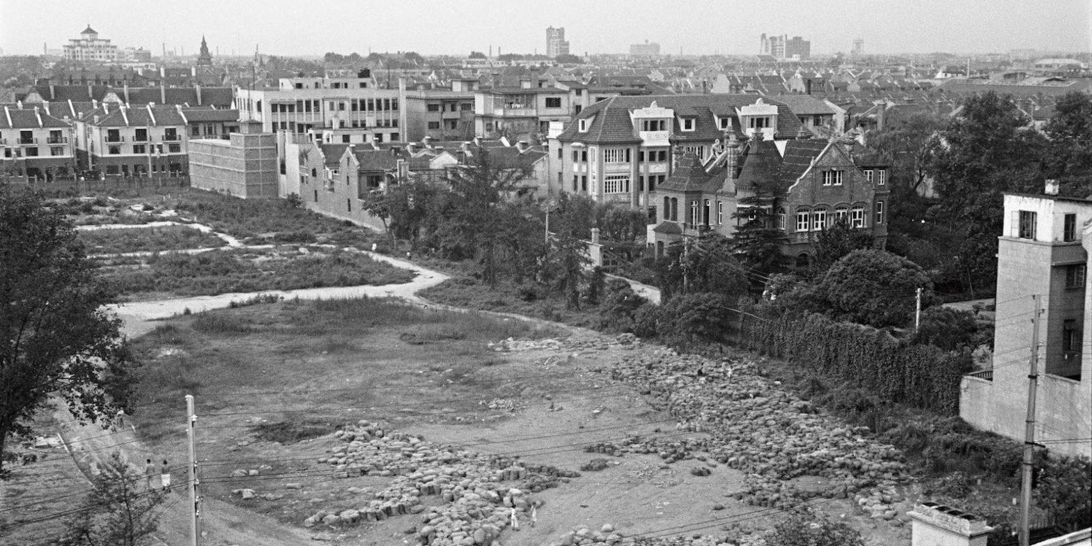 Пустырь на месте будушего парка в 1937 году (с) Harrison Forman AGSL Collections
