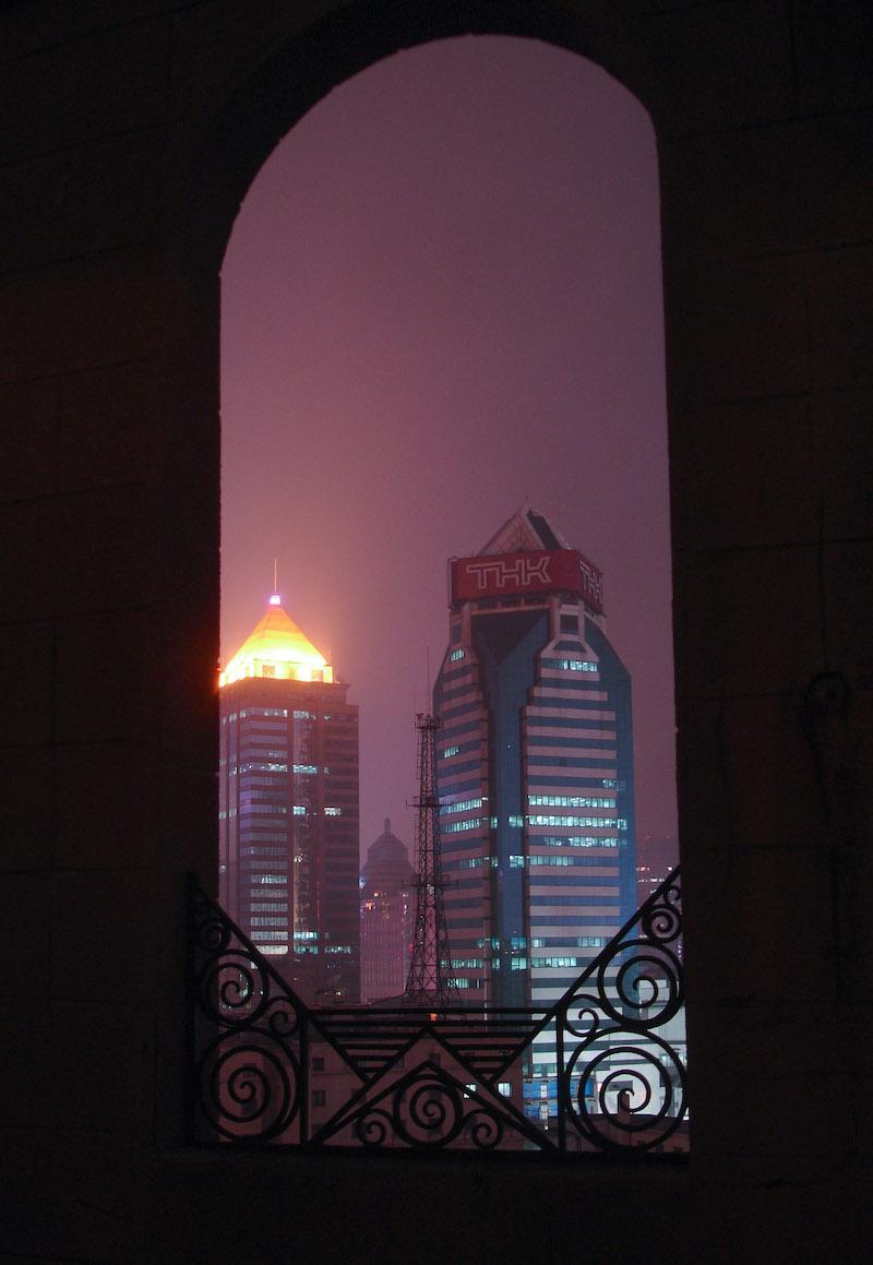 Вид с балкона пентхауса в 2006 году. Источник: Катя Князева