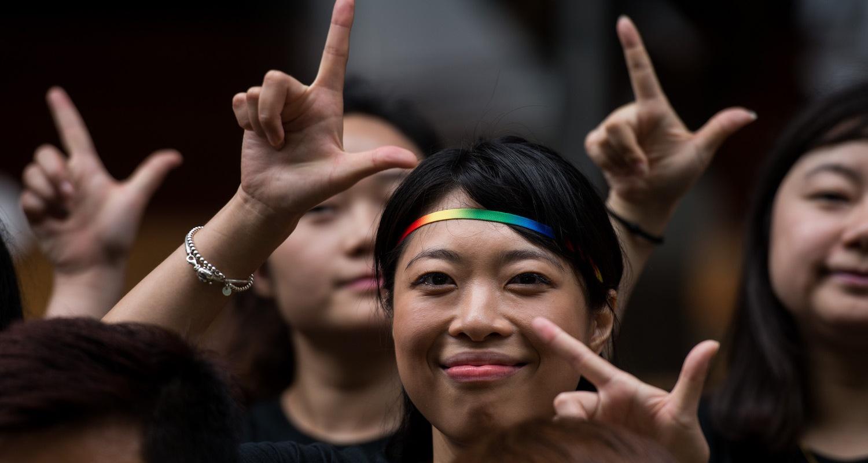 CHINA-GAY-FESTIVAL-RUN