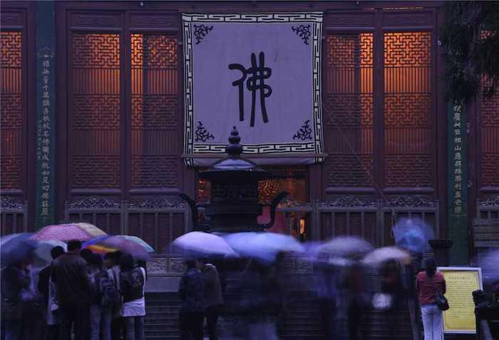 Линъиньсы - крупнейший буддийский центр южнее Янцзы. Источник: weixin.lingyinsi.com