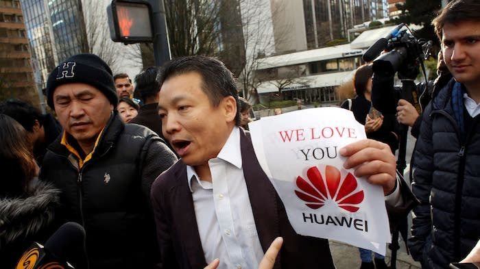Huawei оказался в эпицентре торговых войн Китая и стран Северной Америки. Источник: Nikkei Asian Review