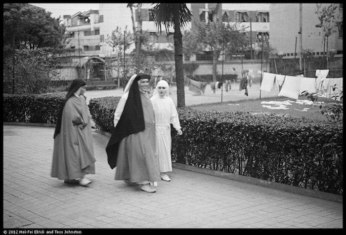 Францисканские монашки-медсестры. Источник: Malcolm Rosholt, Historic Photographs of China, Bristol University