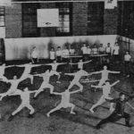 Урок боевых искусств в спортзале ХСМЛ (с) minguotupian.com