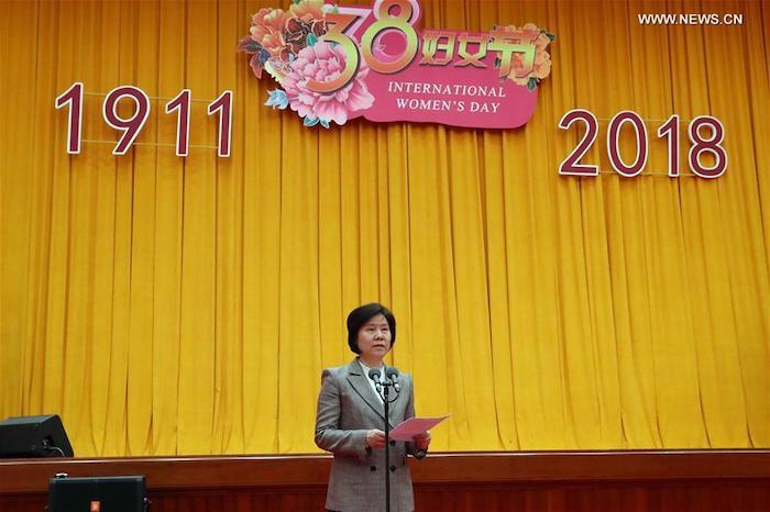 Хотя Международный женский день в Китае празднуют с 1922 года, освобождение женщин датируют 1911 - годом Синьхайской революции. Источник: www.xinhuanet.com