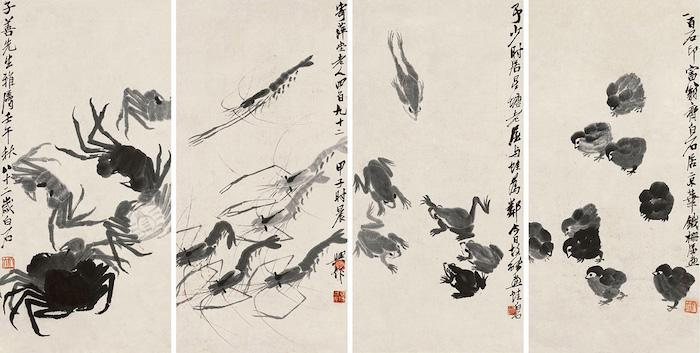 Самый подделываемый художник Китая - Ци Байши. Источник: China Online Museum