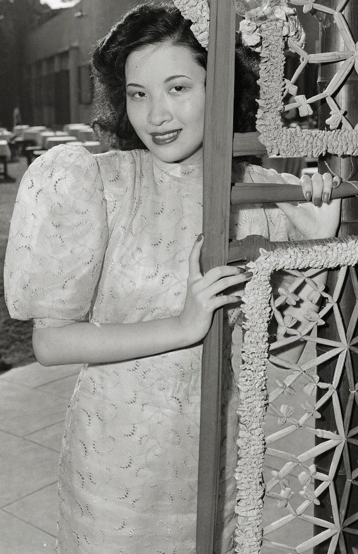 Девушка по имени Zet-Kah-hwa, ставшая второй в конкурсе 1946 года. Источник: Getty Images