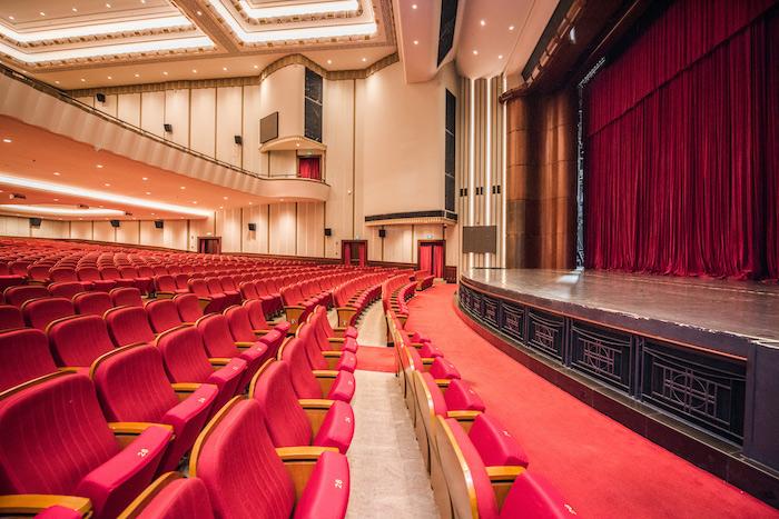 Интерьер зрительного зала. Источник: Majestic Theatre