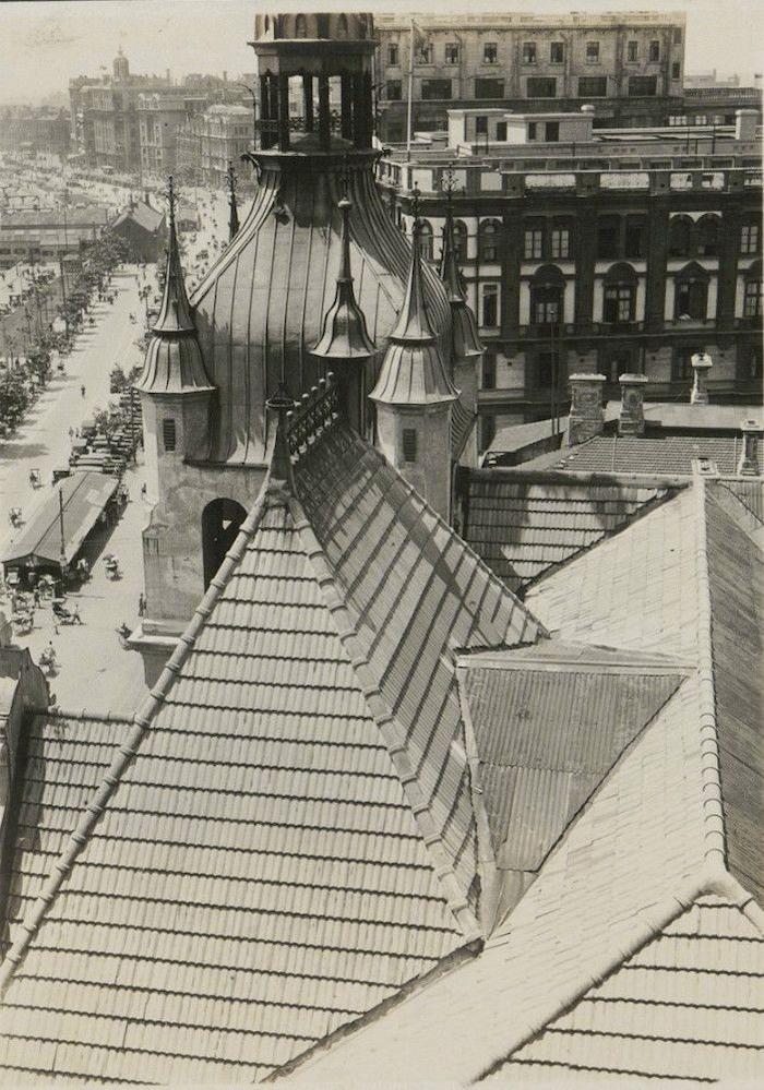 Крыша Конкордии в 1926 году. Источник: tuyouhuaxia.com