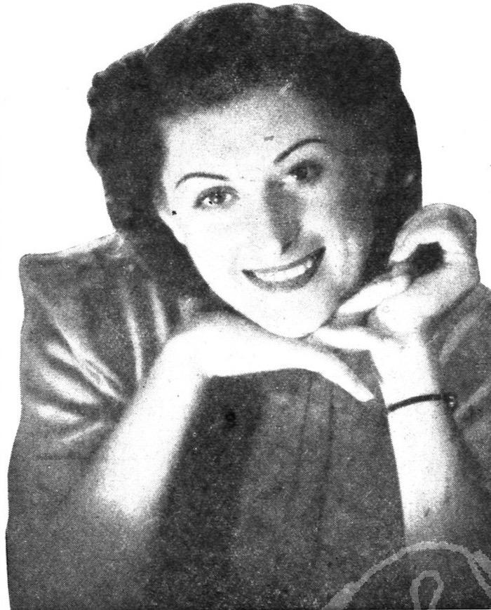 Мисс Шанхай-1938 Рита Беневская. Источник: The China Press Weekly Supplement