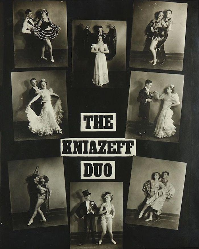Плакат танцевального дуэта Князевых. Источник: ebay.com